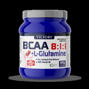 BCAA L-Glutamine pink lemonade