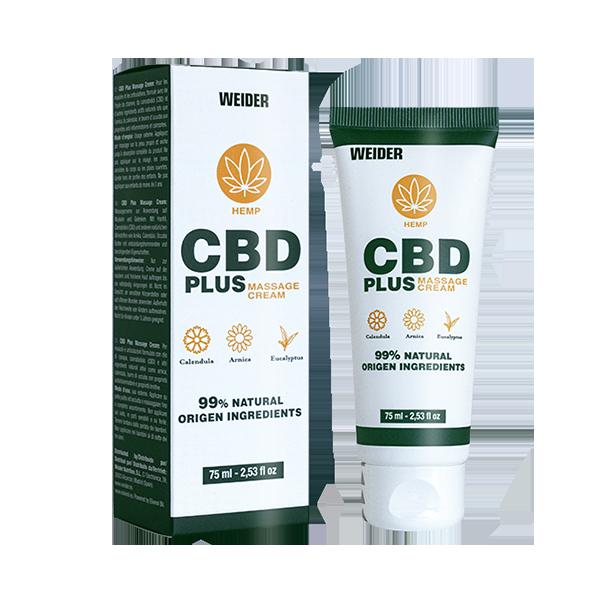 cbd plus massage cream