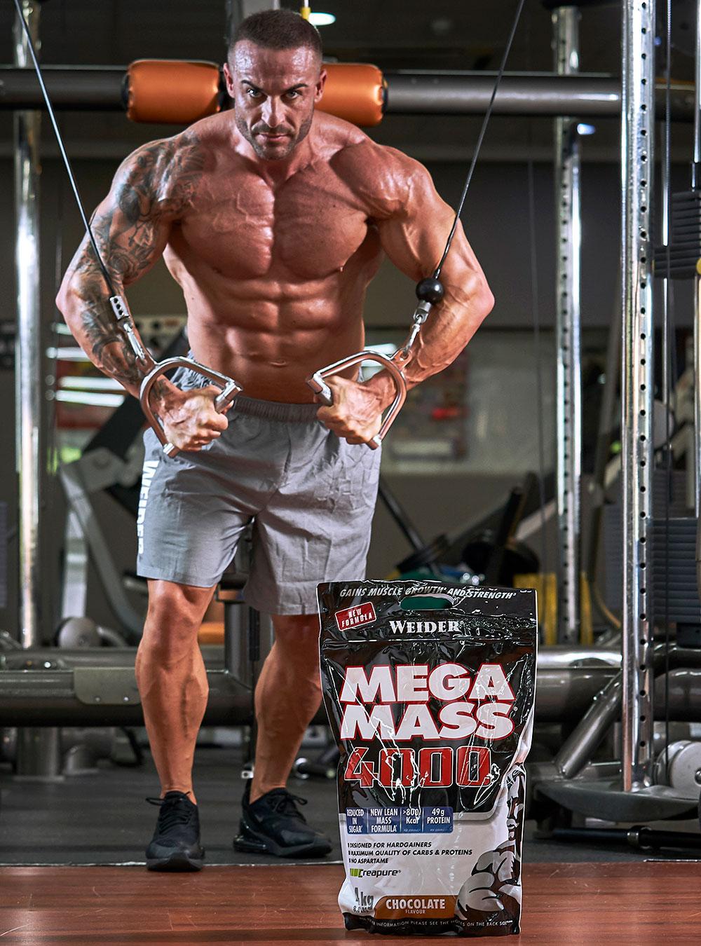 Mega Mass 4000 - 4kg WEIDER® Canary Sport