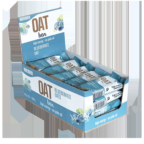 oat bar blueberries