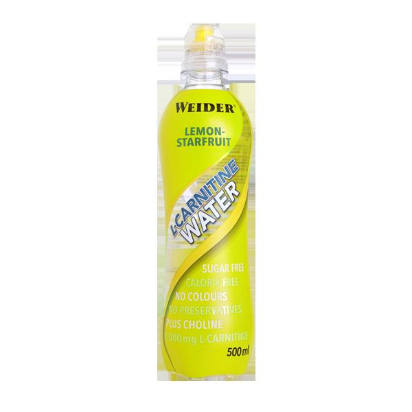 l carnitina agua limon