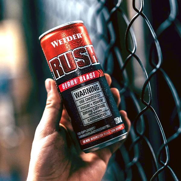 Rush RTD bebida energética weider