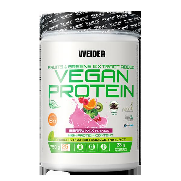vegan protein berry