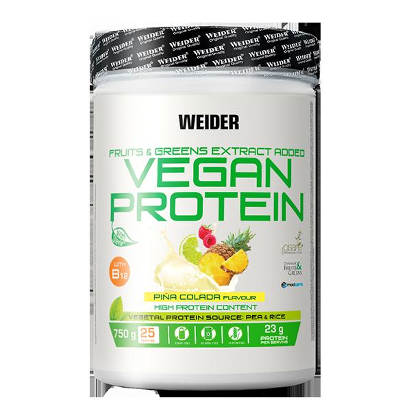 vegan protein piña