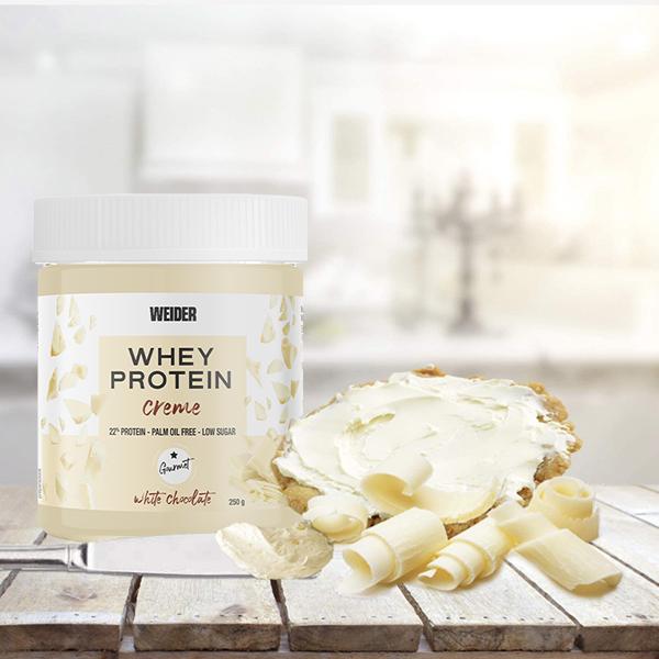 whey protein creme white