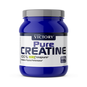 Pure creatine suplemento