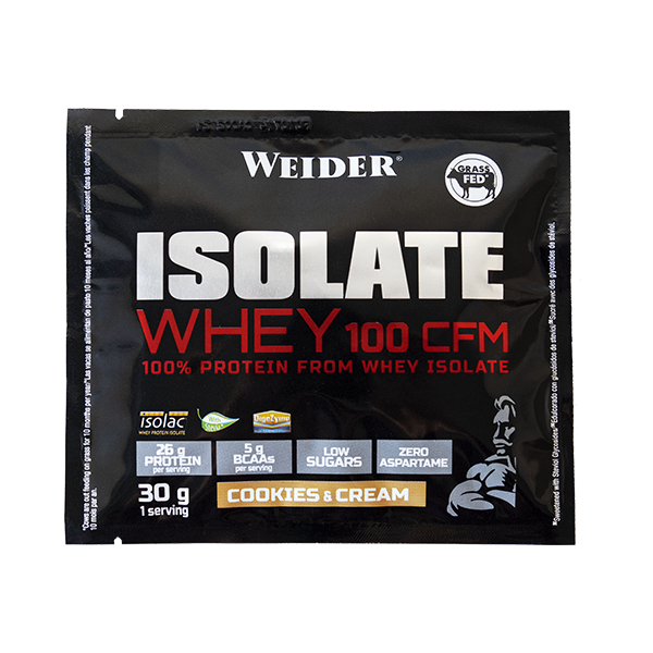 isolate whey cookies and cream