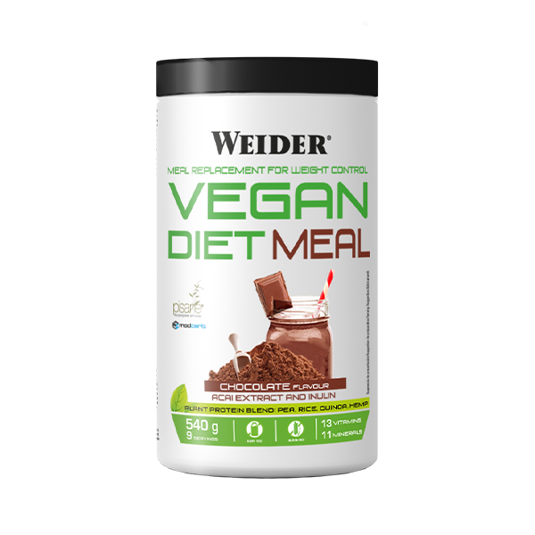 dieta-vegana-proteinas-chocolate-vegetales-weider