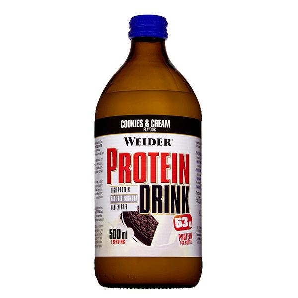 bebida proteina cookies and cream