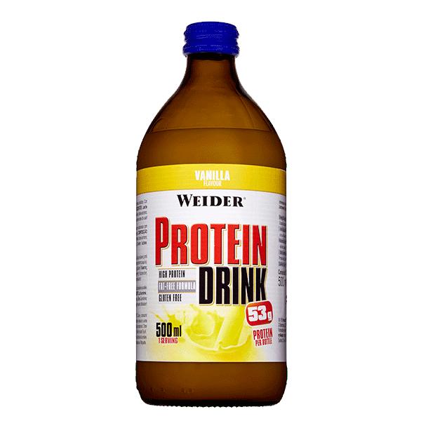 bebida proteina vainilla