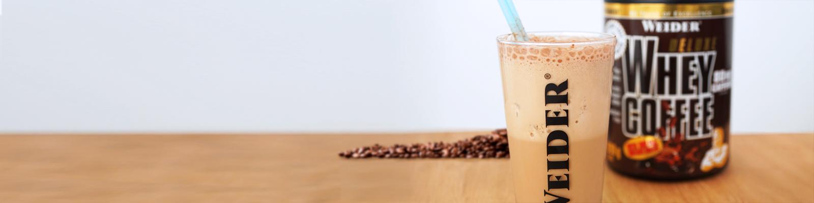 Frappé de café proteico