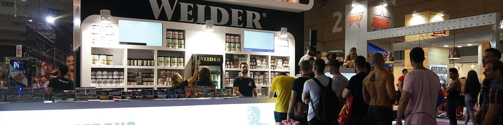Un año más, Weider acude a su cita en el Arnold Classic Europe 2016