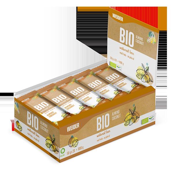 Pack Bio bar Almond barrita energética