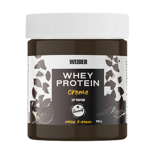 whey protein creme cookies and cream