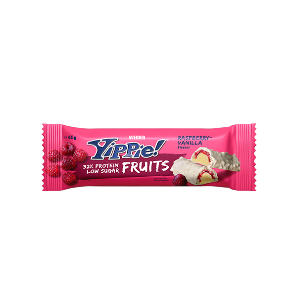 yippie fruits bar rapsberry vanilla